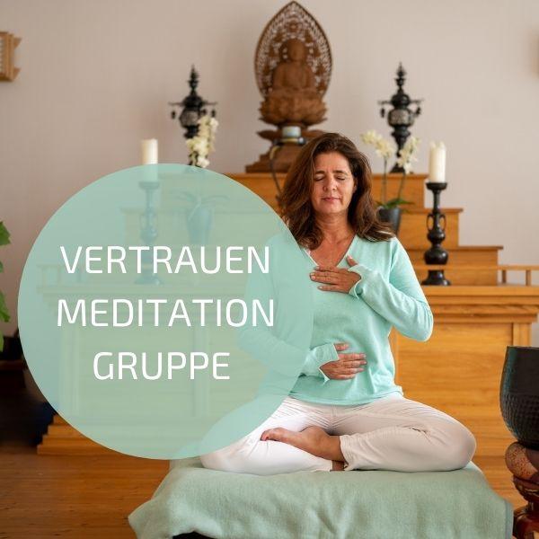 Vertrauen Meditationsgruppe